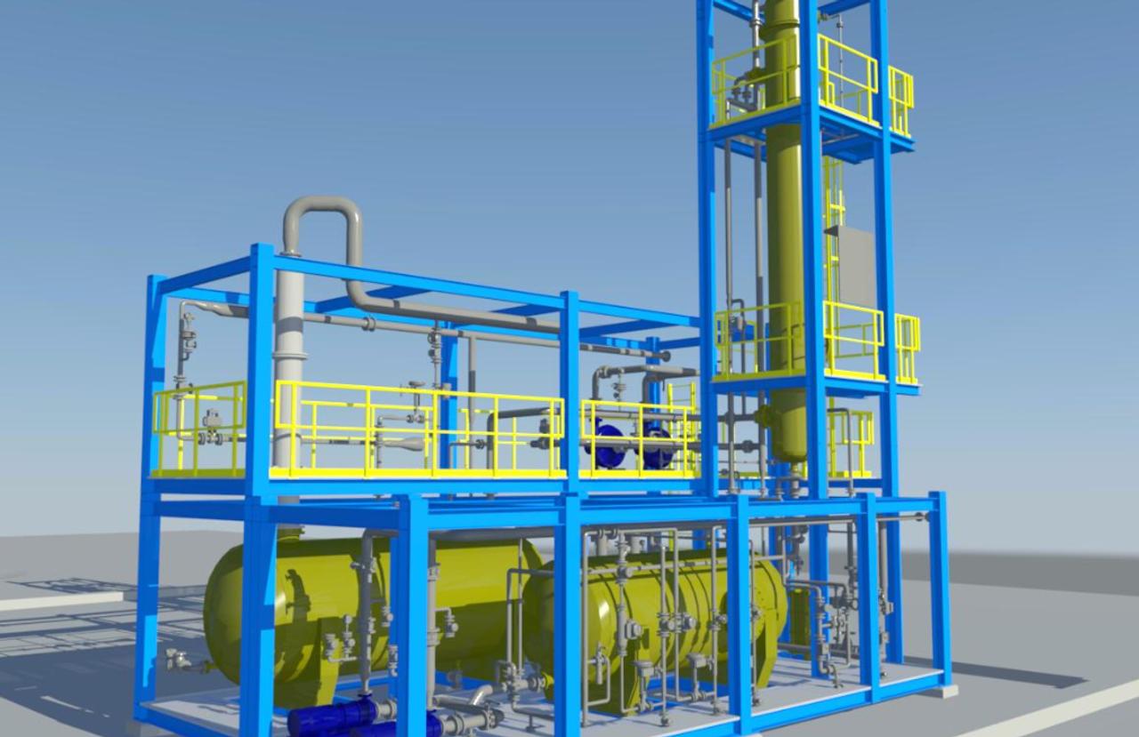 skid-mounted chlorine units