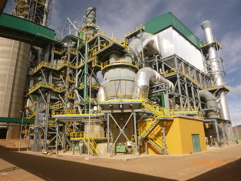 Cemento de Bolivia, Cement Bolivia, 3000 tons per day plant incl. QMR² and QMC²