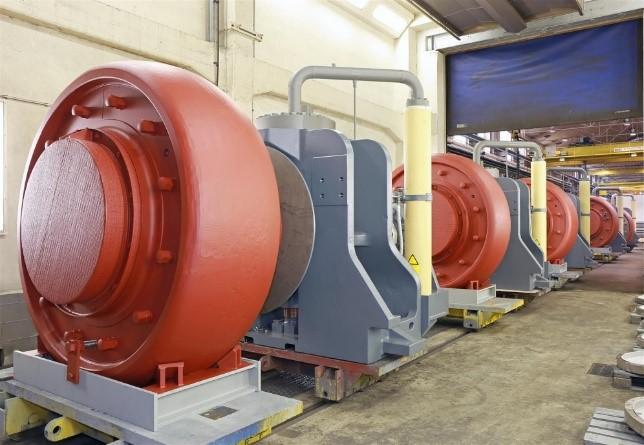 roller units pre-assembled, vertical roller miller, quadropol