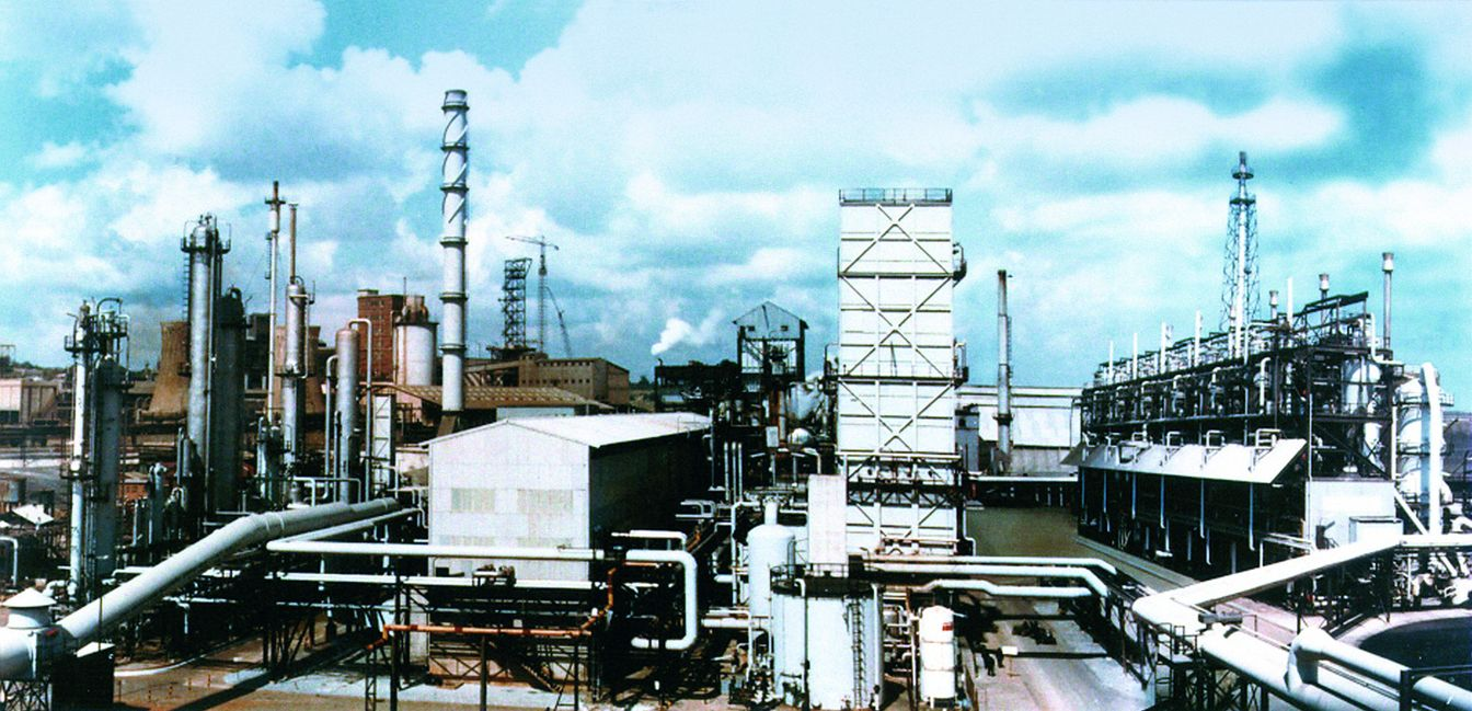 Gasification Plant For The Production Of Ammonia And Methanol