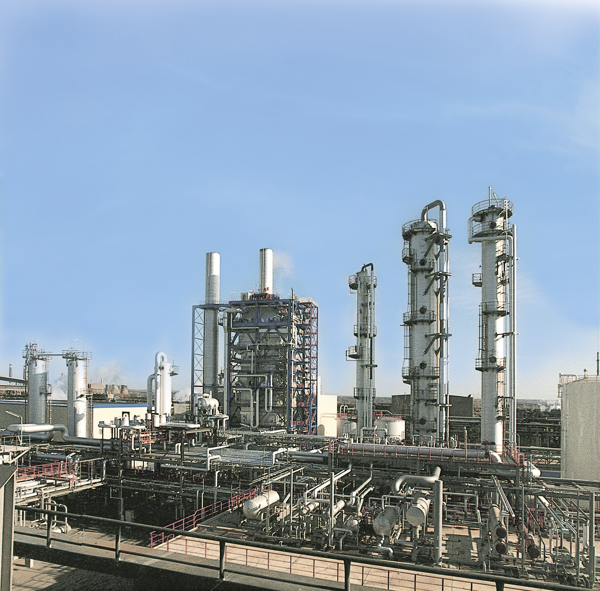 Methanolanlage Schwarze Pumpe