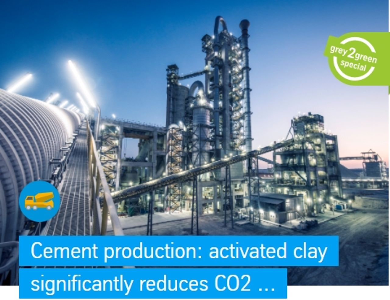 The polysius® activated clay technology developed by thyssenkrupp is reducing the process-related carbon dioxide emissions generated in the production of conventional cement by up to 40 percent. The Netherlands-based company Cimpor Global Holdings (CGH) is using this technology on an industrial scale in its new plant in Cameroon and is replacing 30 percent cement clinker with activated clay. At the same time, it is reducing its production costs and thus improving its competitiveness twice over. For CGH, this is already the second project in which calcined clays are used.