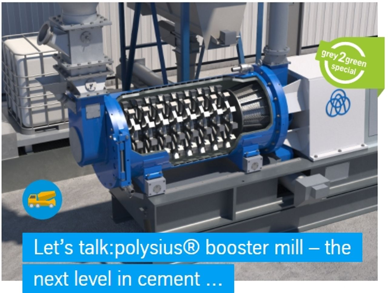 Reducing the clinker factor without compromising quality and the rising demand for high-performance cements are great challenges for the fine grinding technology used in cement plants. As part of its green cement plant project, thyssenkrupp has expanded its product range with the polysius® booster mill. While one cement manufacturer has already integrated the mill into his existing grinding circuit, several others have tested the mill since August 2020 and are checking results in terms of specific business cases. Michael Wilczek, Senior Data Specialist and Dr. Guido Kache, Senior Process Engineer inform about the design of the new mill and the results obtained during the operation of the pilot plants.