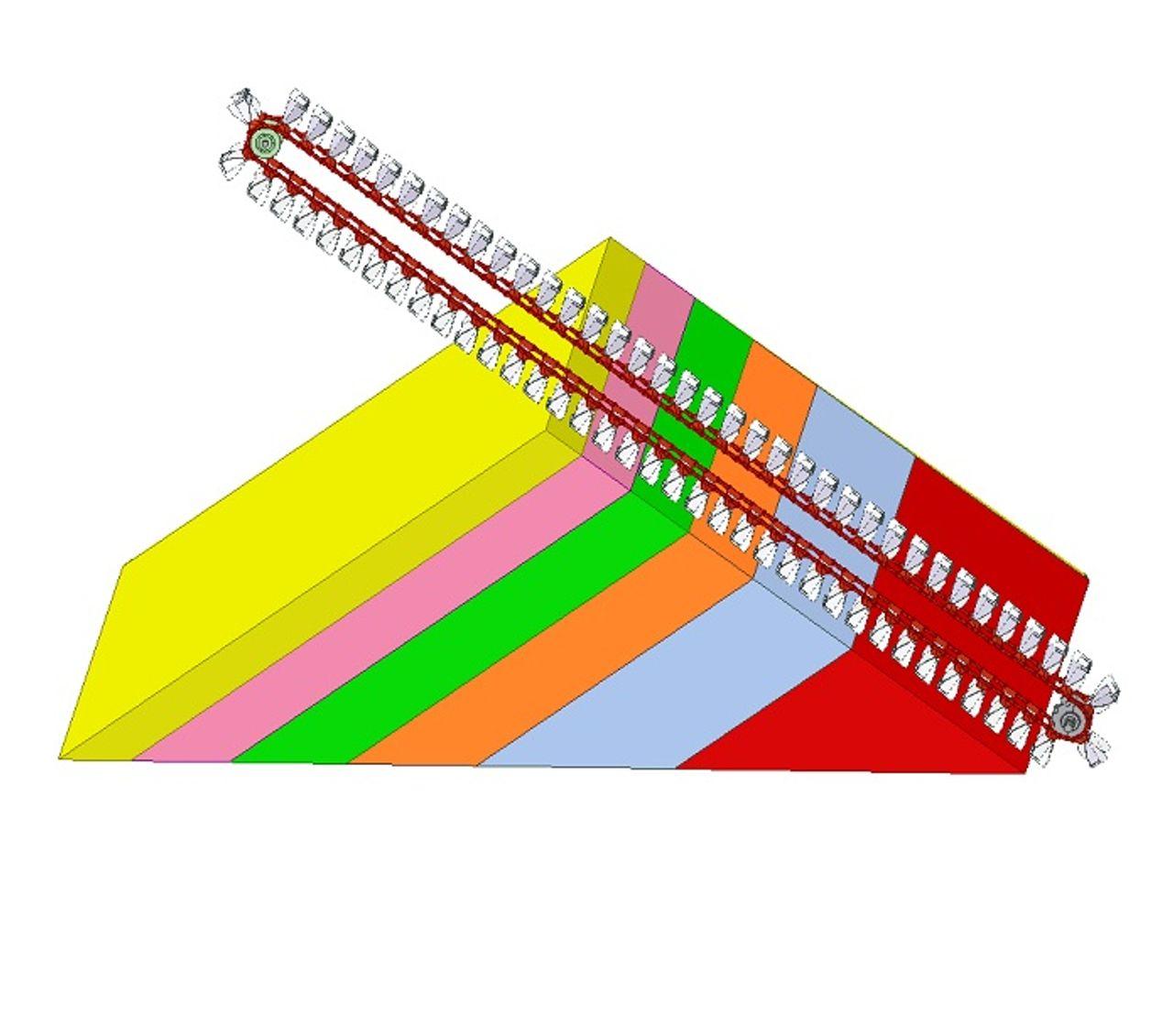 Strata stacking
