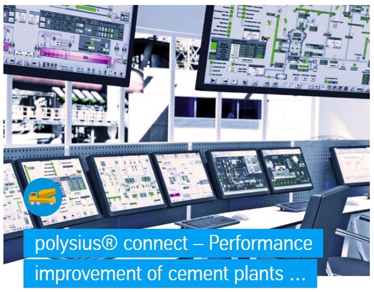 Performance improvement of cement plants thanks to remote control