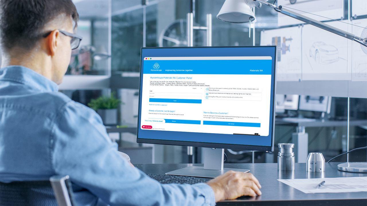 Engineered Plastics B2B Customer Portal