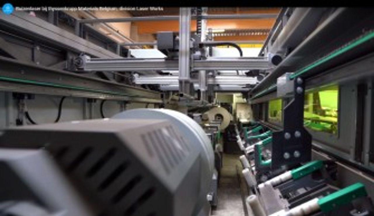 3D buislasersnijden - 3D - lasersnijden - découpe laser 3D de tubes - découpe laser - 3D tube laser cutting - laser cutting - thyssenkrupp Materials Belgium