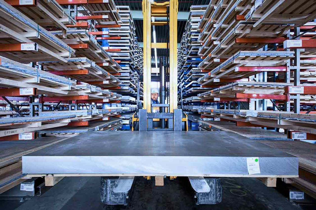 Overzicht diensten thyssenkrupp Materials Belgium