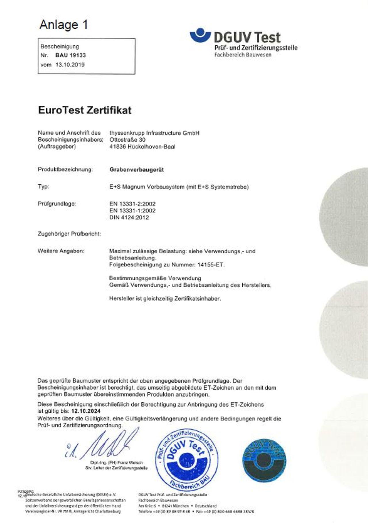 PDF Pruefbescheinigung Magnumverbau