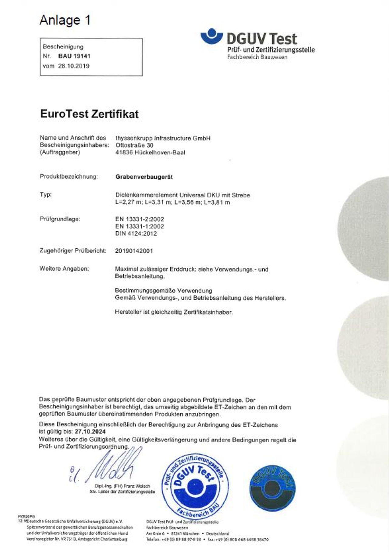 PDF Download Pruefbescheinigung Dielenkammerlement DKU
