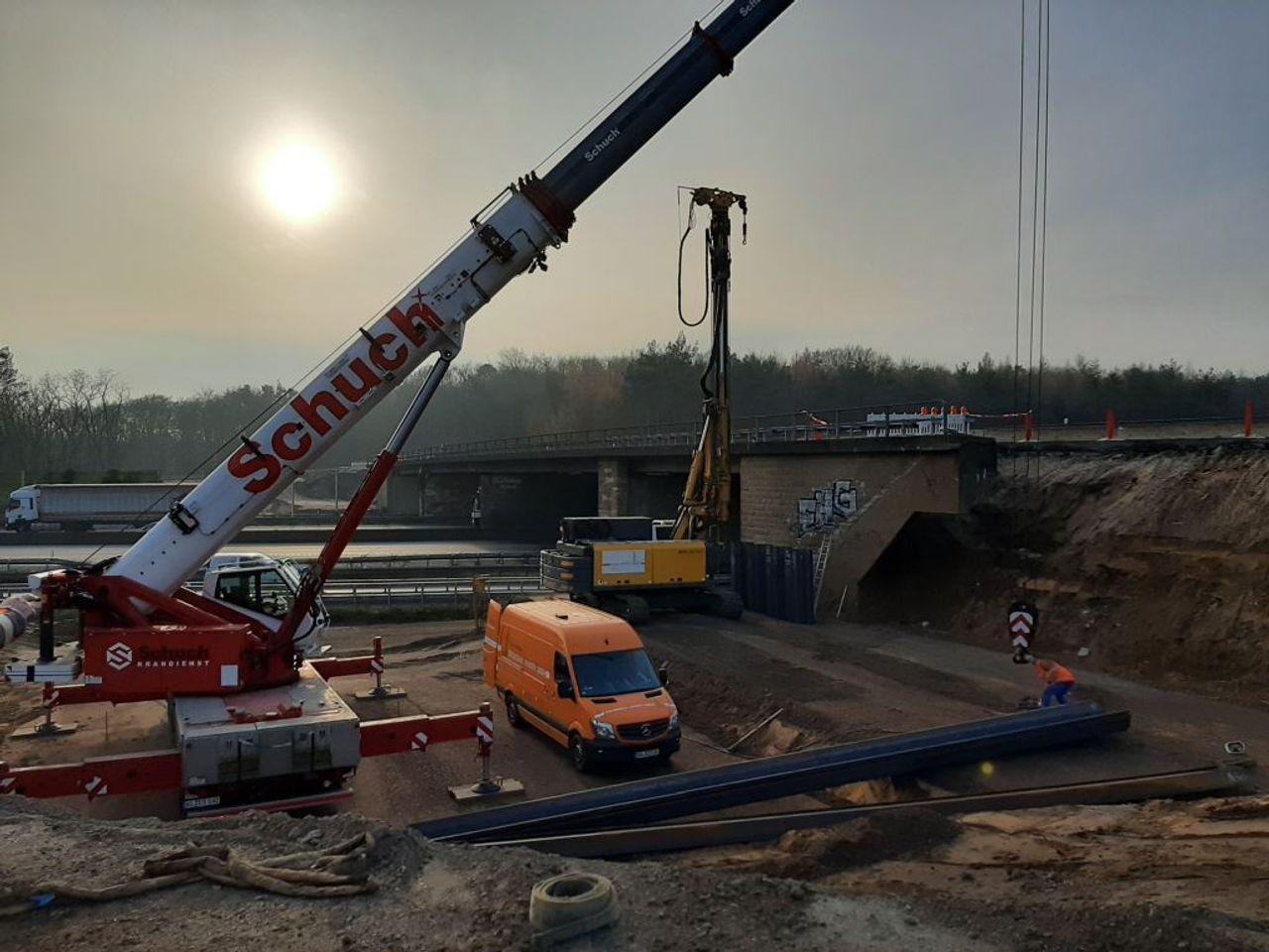 Brückenwiderlager Offenburg