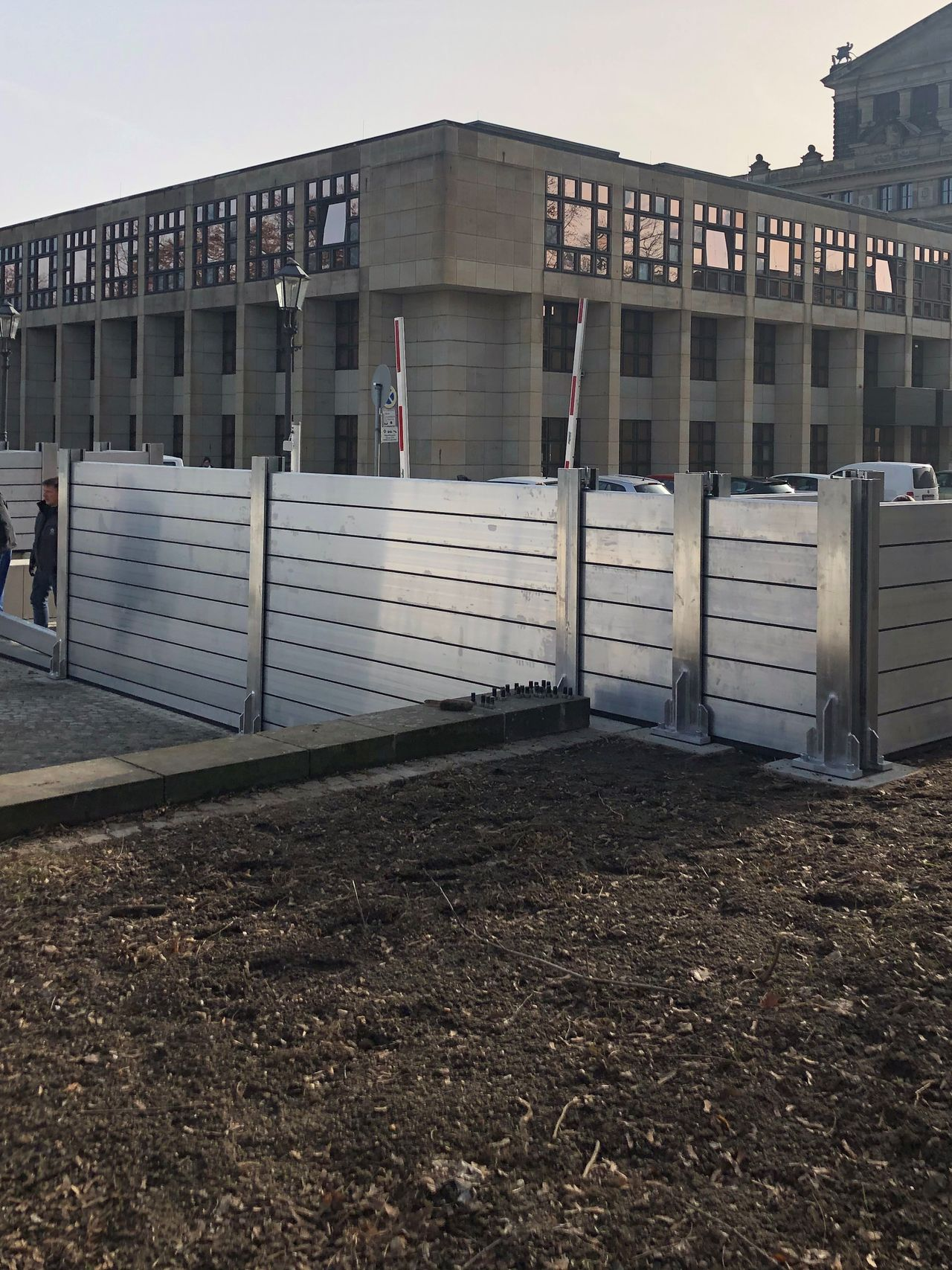 Reference flood Protection, Semper Opera Dresden