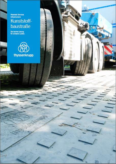 Broschüre Kunststoffbaustraße