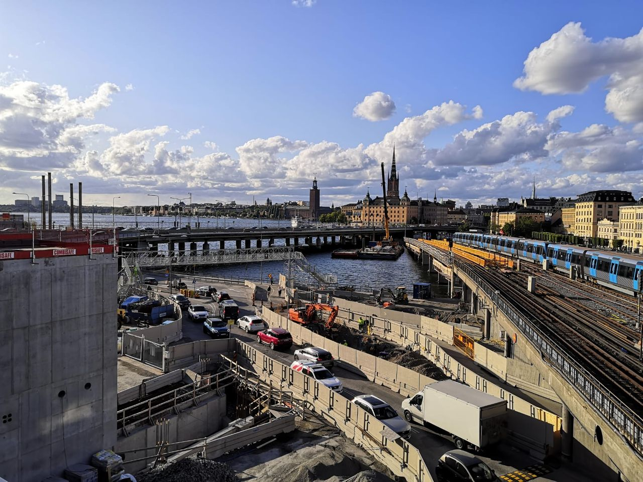 Stockholm, Moveable Scaffolding System MSS