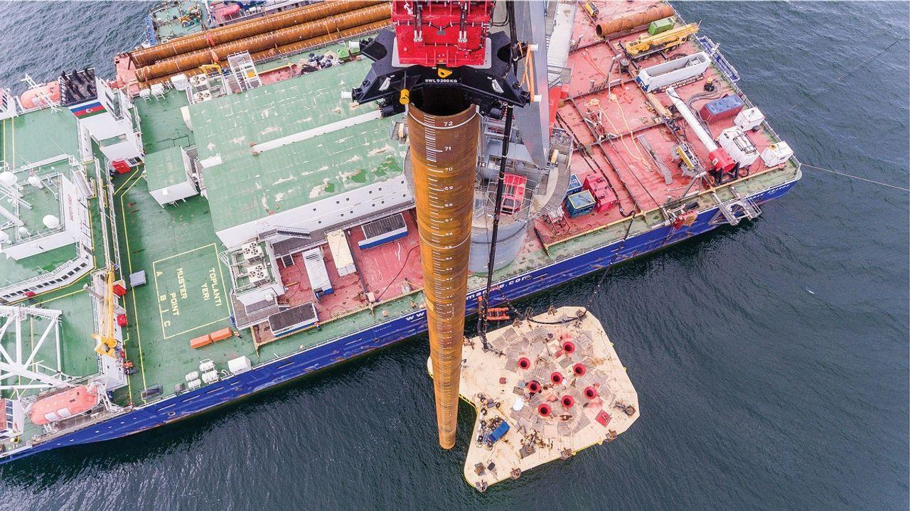 Pioneering achievement on the high seas