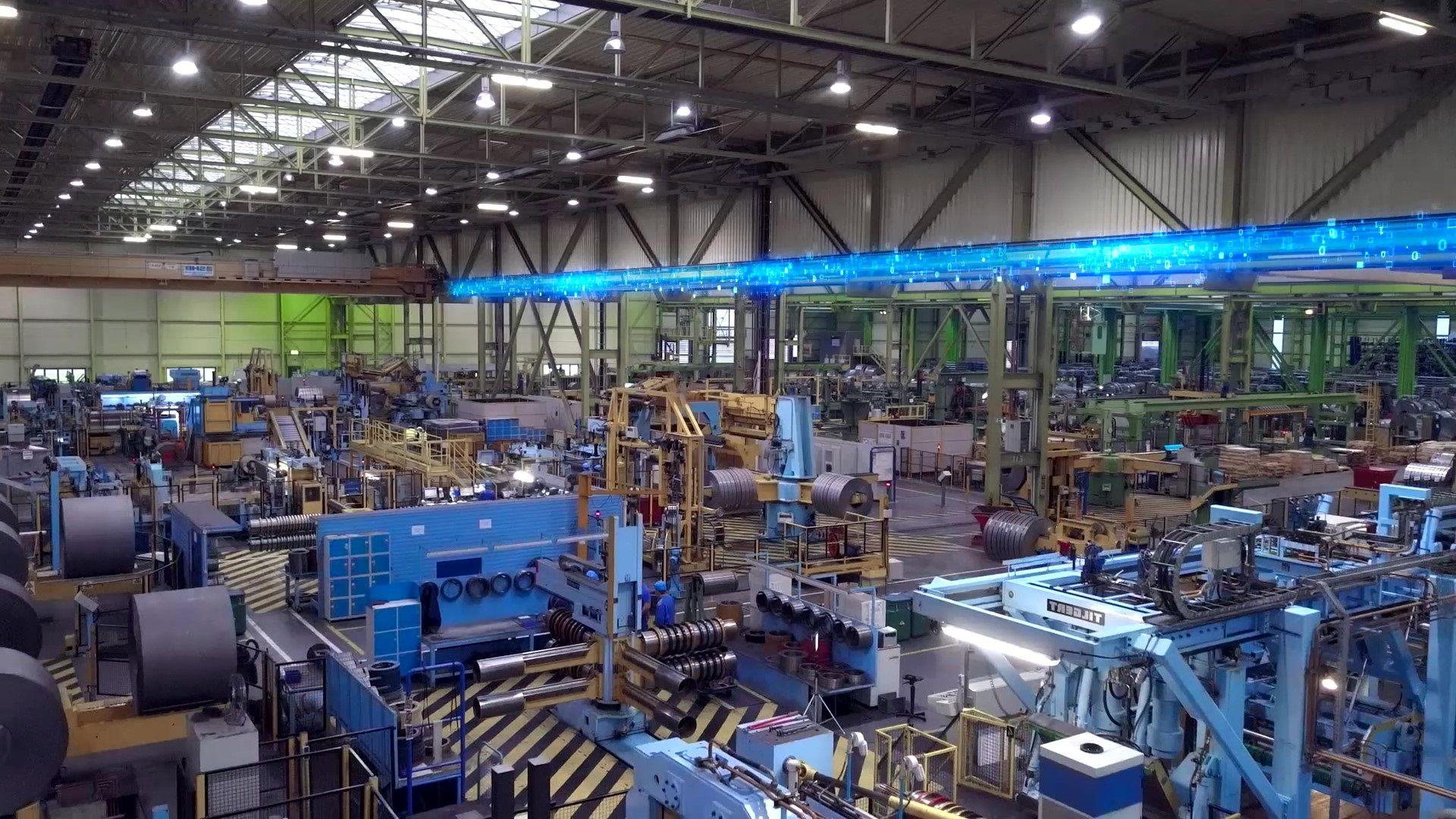 Smart Factory, Industrie4, Digitalisierung, Vernetzung
