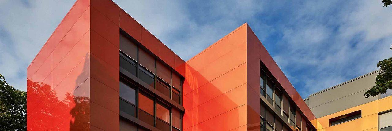 ALUCOBOND Fassade - Schimmerndes Farbspiel