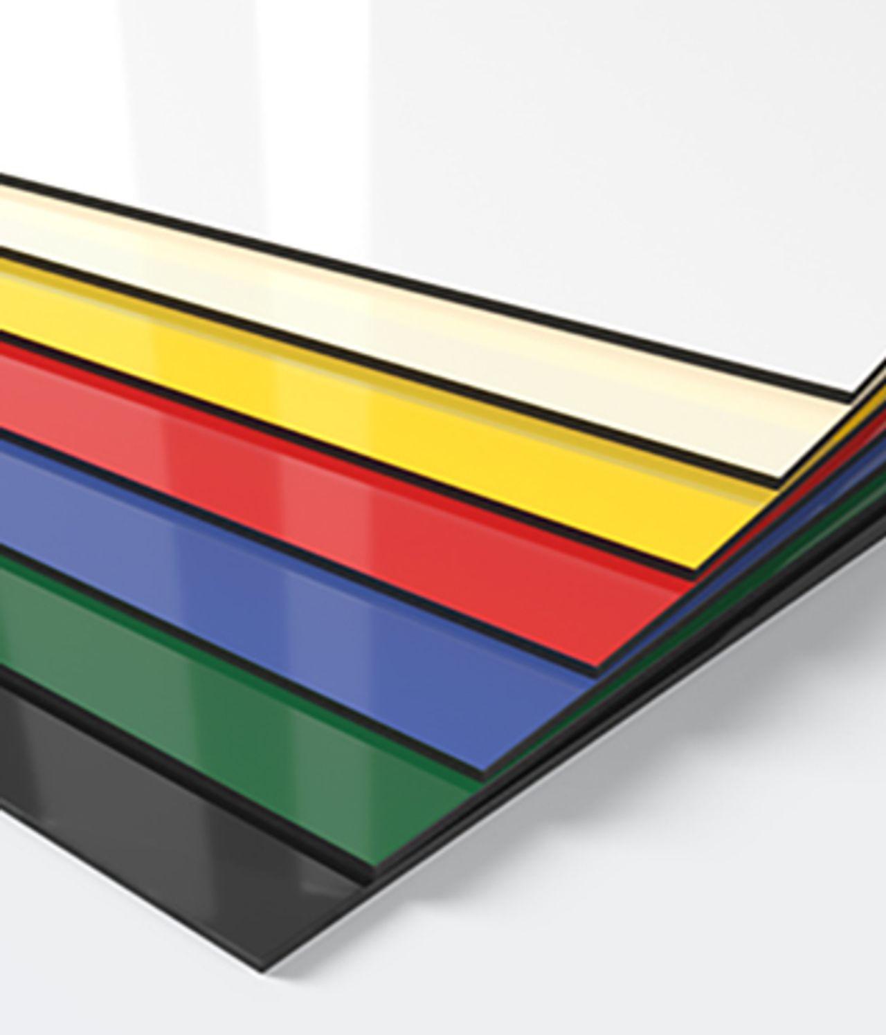 DIBOND® Standardfarben