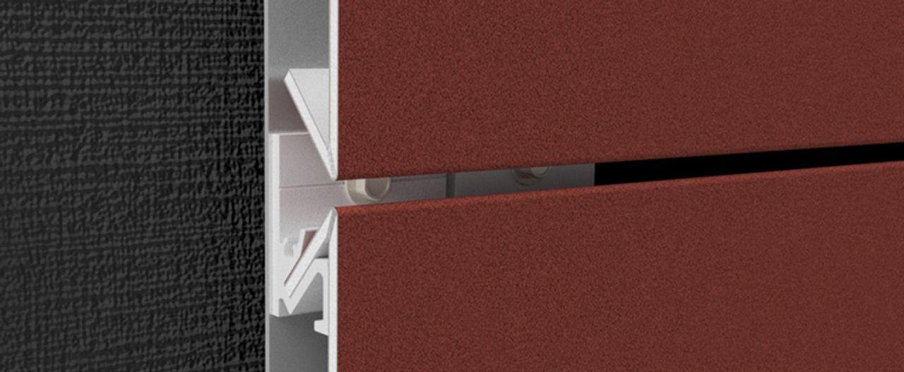 ALUCOBOND® easy fiX Kassetten-System Befestigung