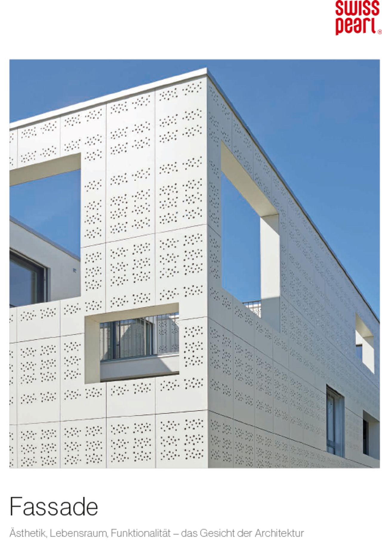 Swisspearl® Fassade Herstellerbroschüre