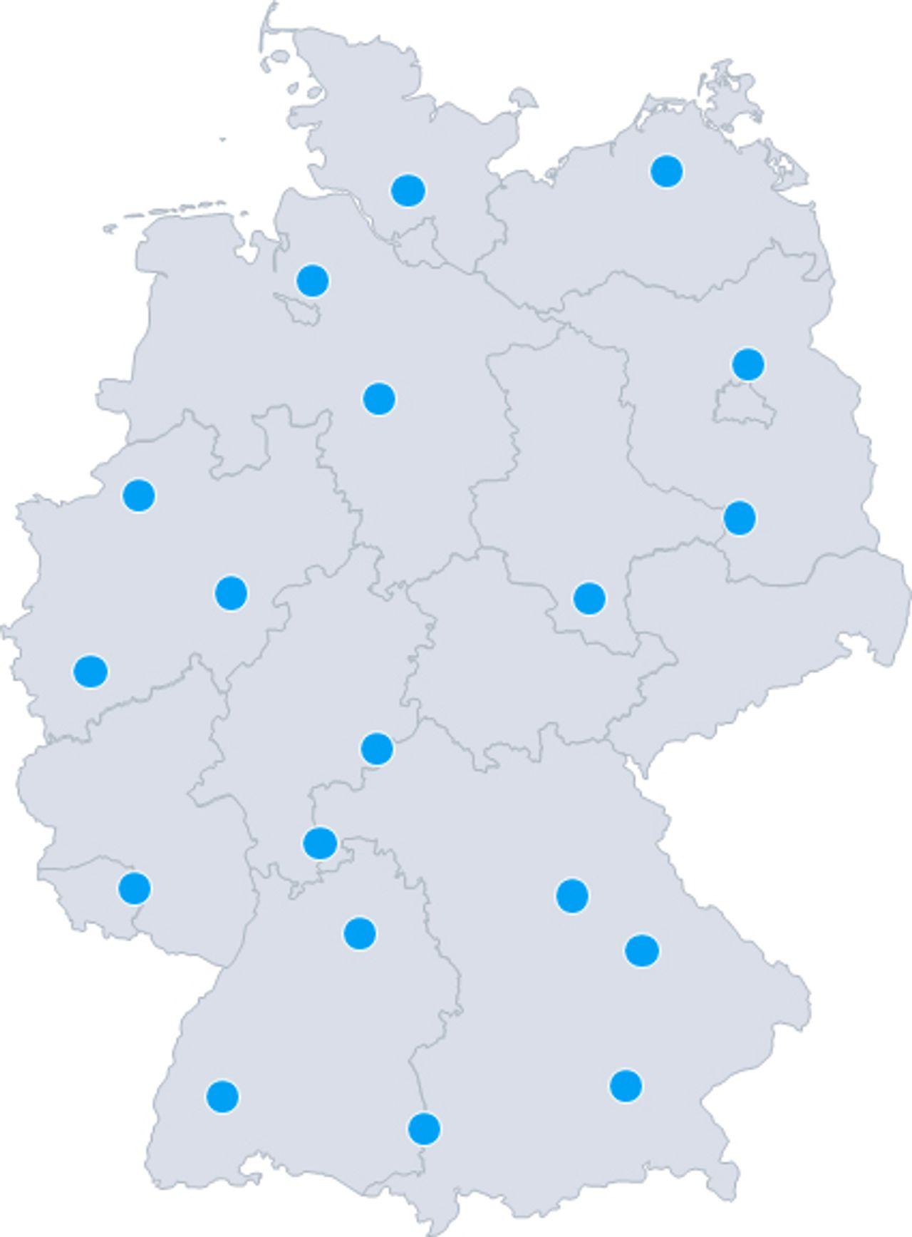 Standorte thyssenkrupp Plastics GmbH Deutschland