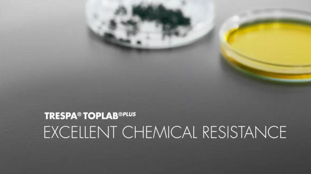 Trespa TopLab Plus: chemikalienresistent