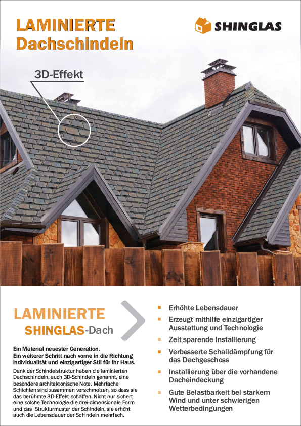 Shinglas® Hobby laminierte Dachschindeln Produktinformation