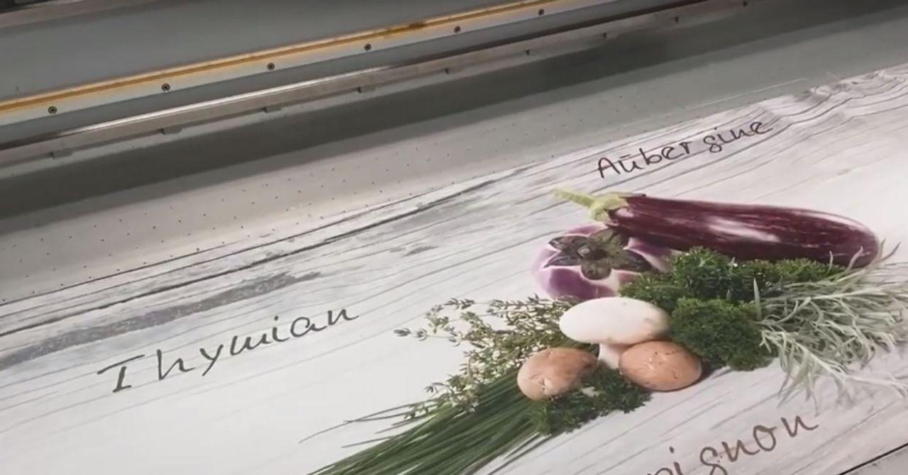 Printing on Alupanel® A-LITE