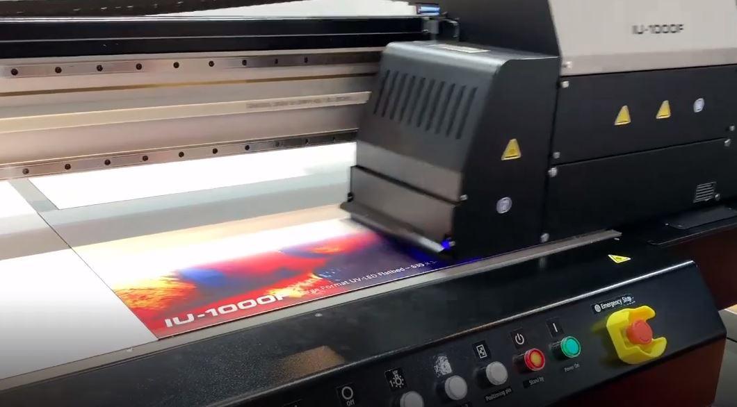 Bild Drucken auf Multishield