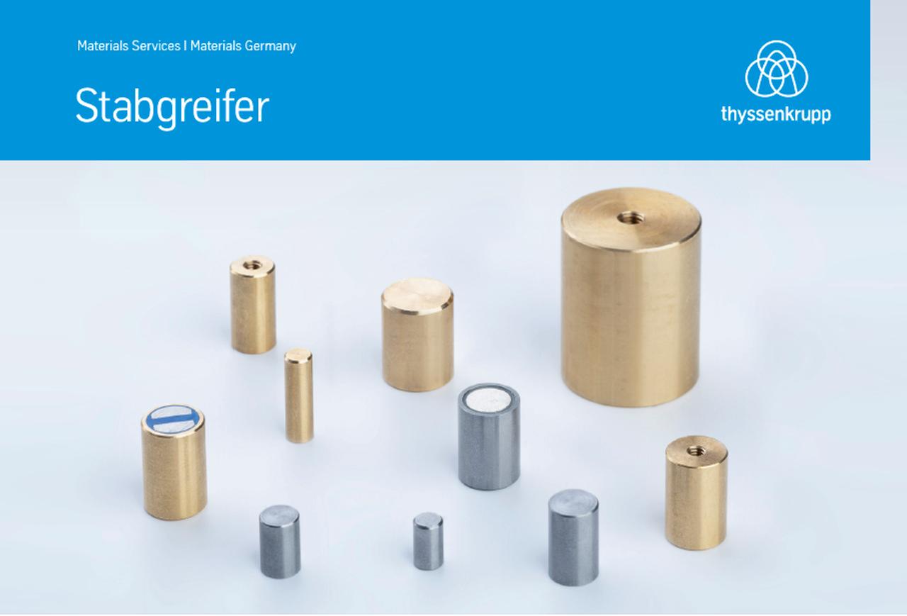 Stabgreifer, thyssenkrupp Magnettechnik