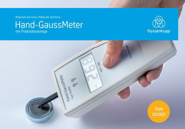 Hand-GaussMeter
