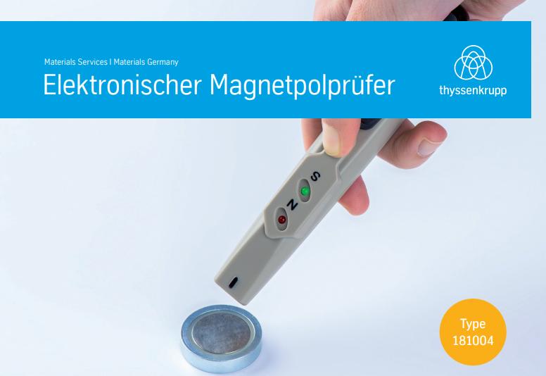 Elektronischer Magnetpolprüfer