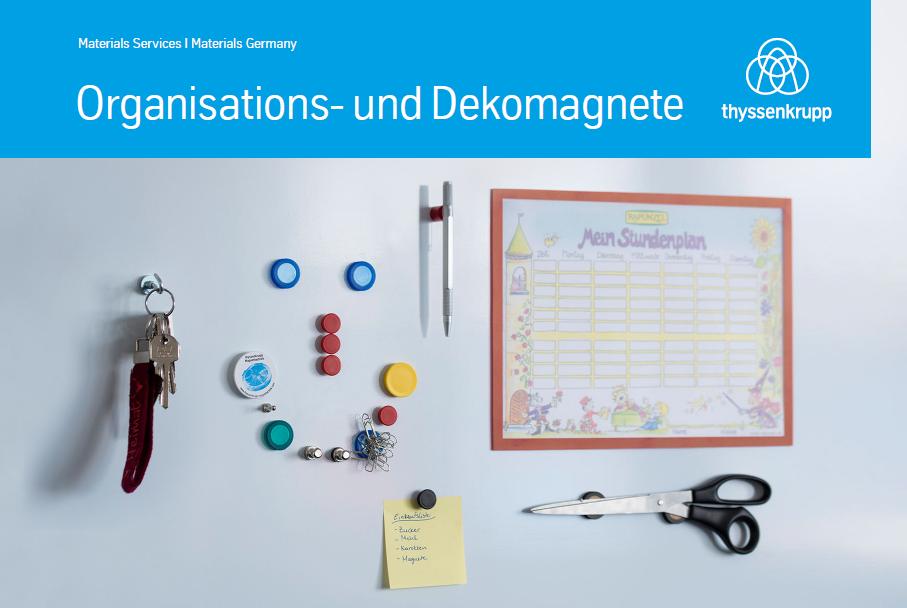 Organisations- und Dekomagnete, thyssenkrupp Magnettechnik