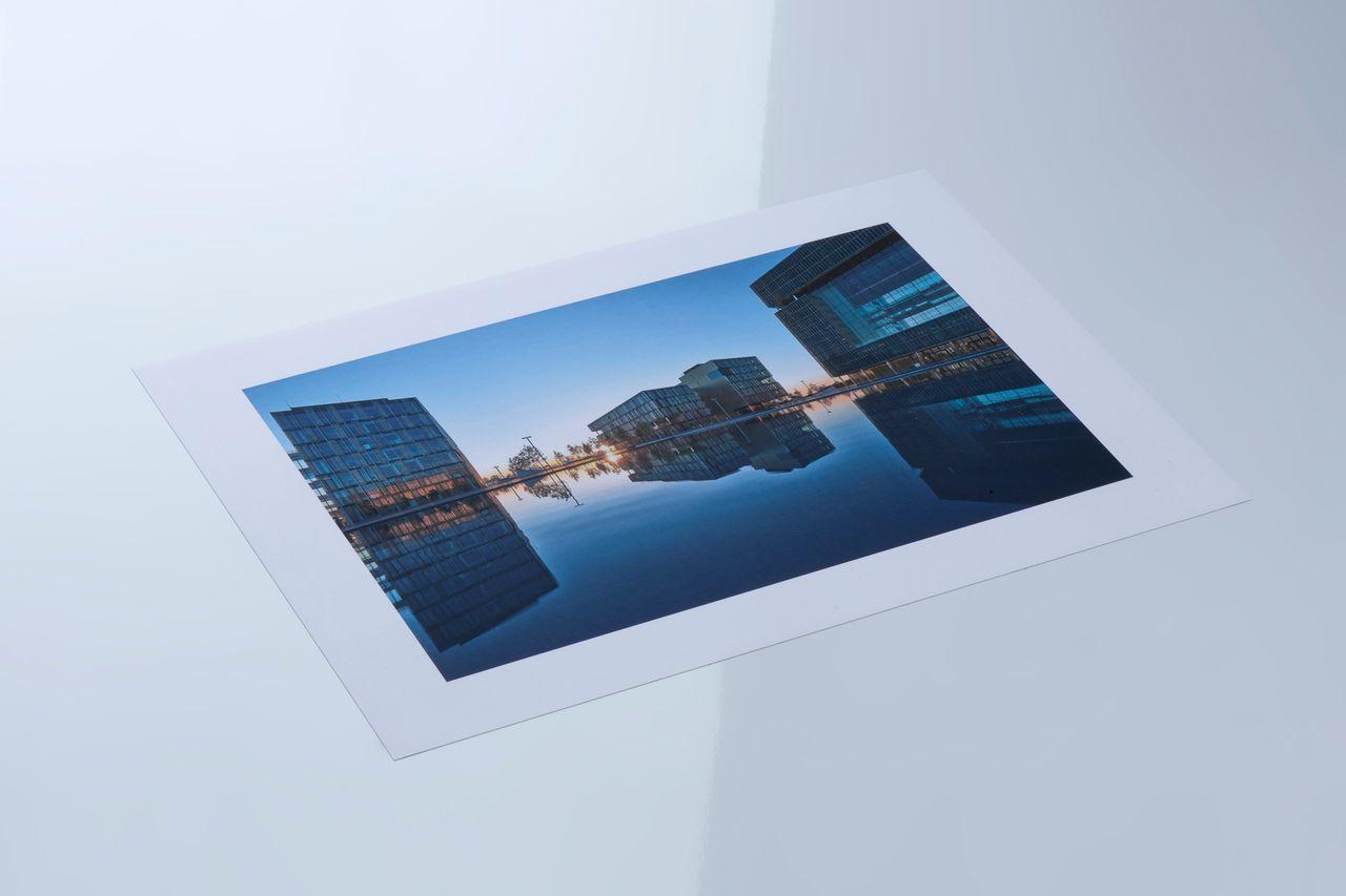 Magnetisches Fotopapier glänzend, thyssenkrupp Magnettechnik