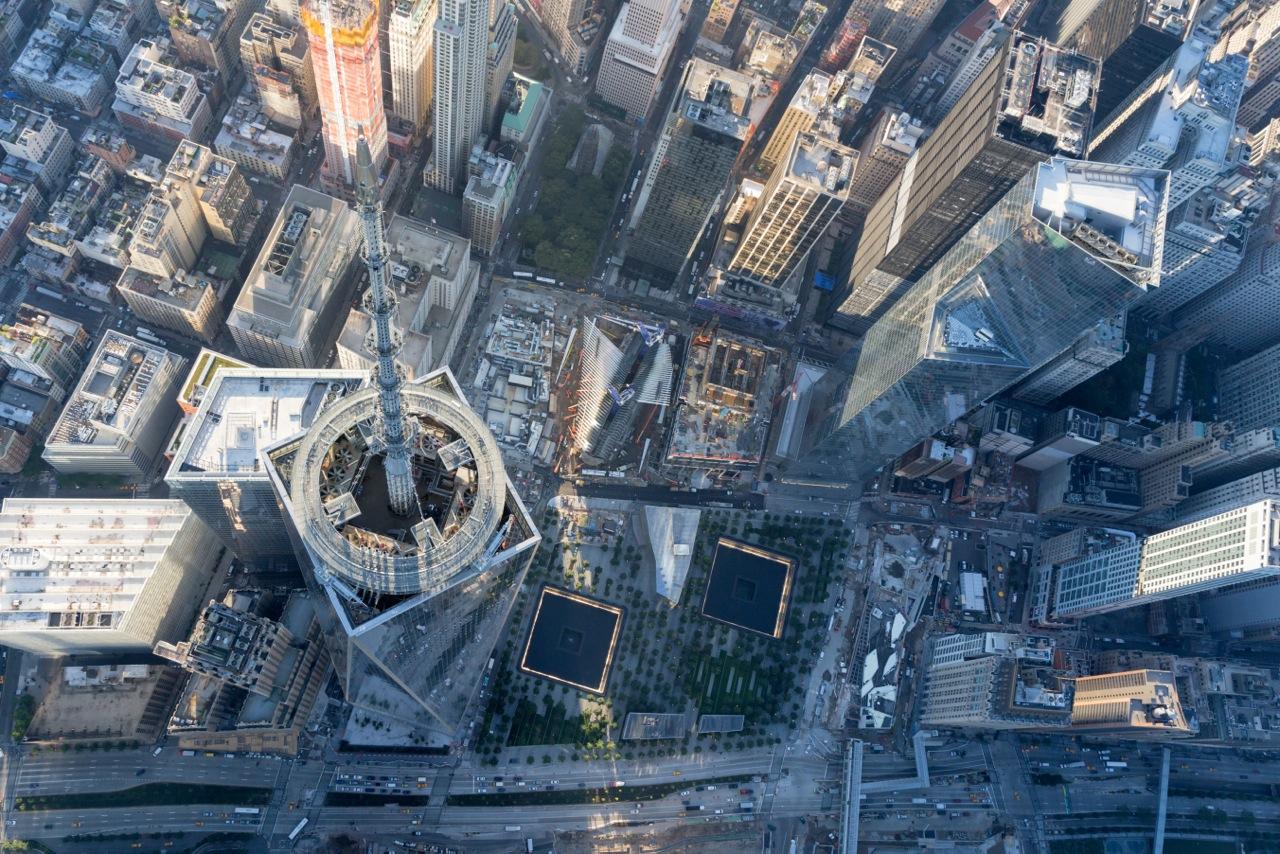 Das One World Trade Center ist mit 541 Metern das höchste Gebäude in New York City © Iwan Baan