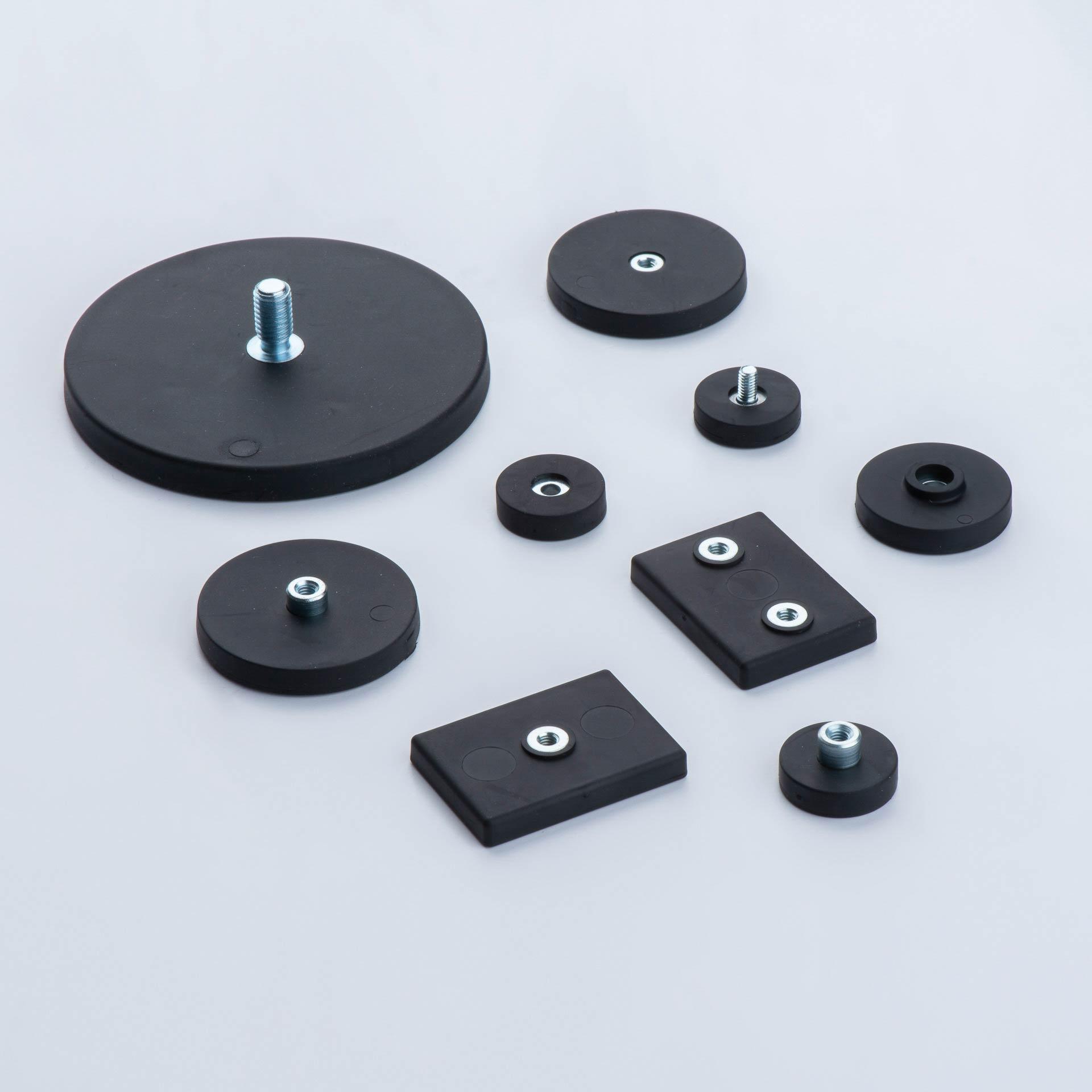 Gummiummantelte Magnetsysteme, thyssenkrupp Magnettechnik