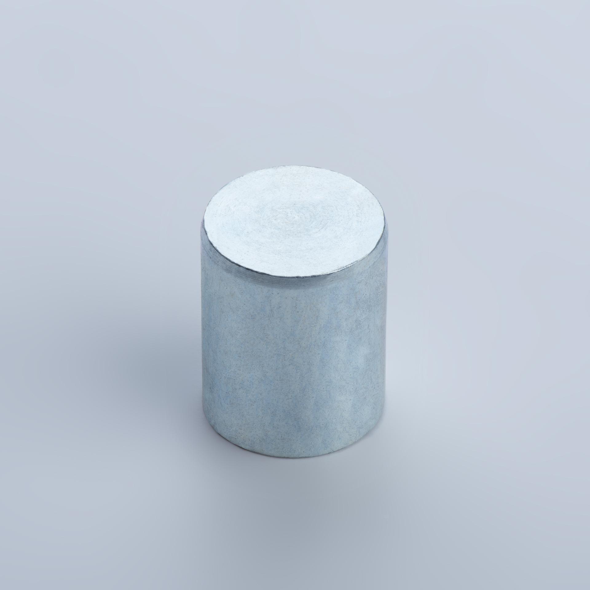 Stabgreifer aus AlNiCo, Stahlgehäuse mit Passungstoleranz h6, verzinkt, thyssenkrupp Magnettechnik