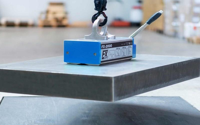 Mechanically switchable lifting magnets, thyssenkrupp Magnettechnik