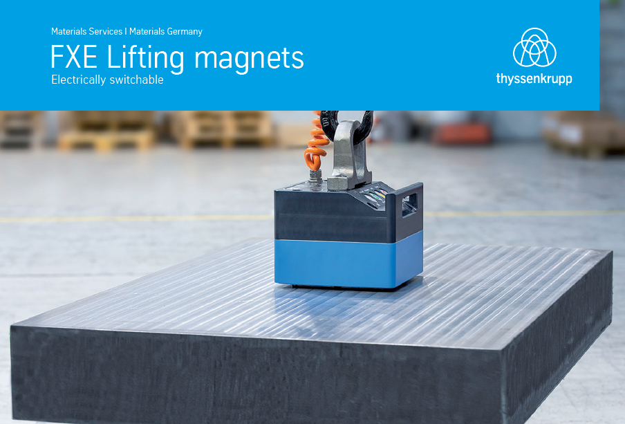 Electrically switchable lifting magnets