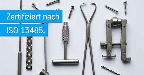 Metalle für medizintechnische Instrumente und Implantate