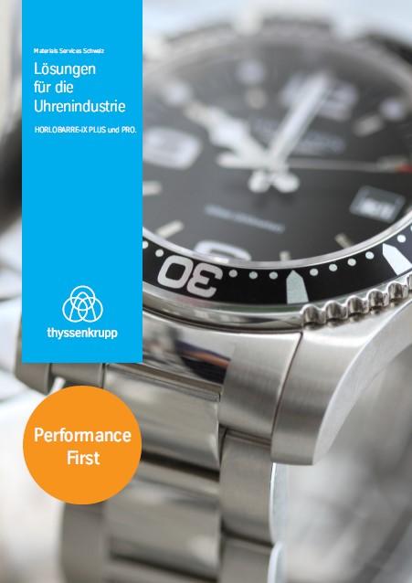 Lösungen aus Metall für die Uhrenindustrie