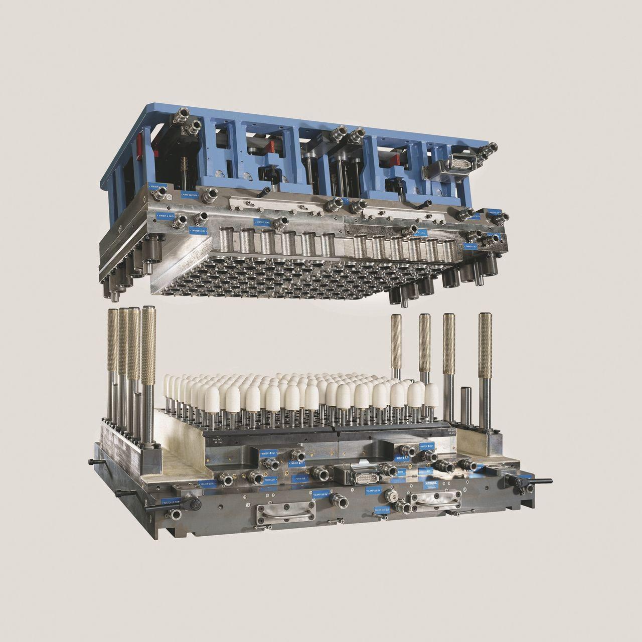 Thermoformwerkzeuge im XXL-Format mit bis zu 140 Kavitäten für M100, TSL FT8000, FT7500