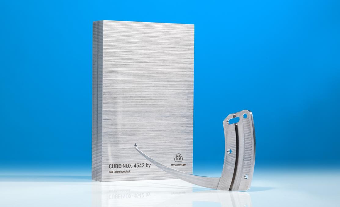 Bauteil aus CUBEINOX für die Medizintechnik