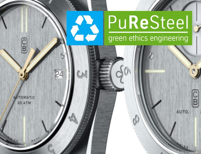 PuReSteel for watchmaking