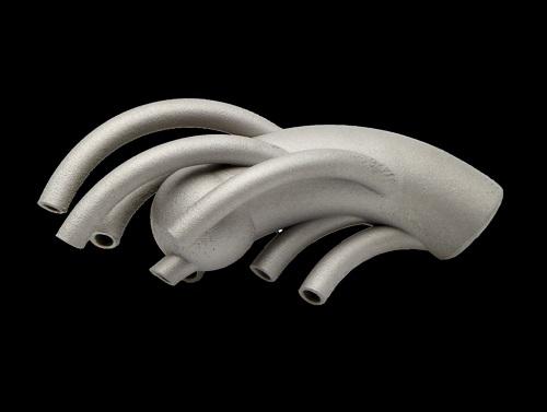 Duschkopf in 3D-Technologie hergestellt