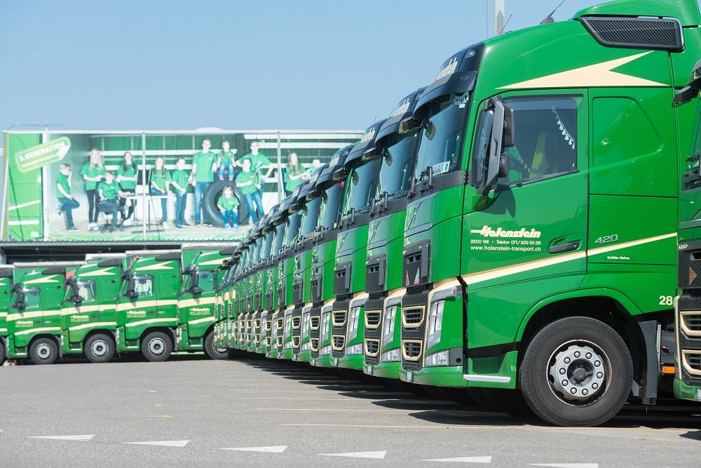 Fahrzeugpark Holenstein Transporte AG