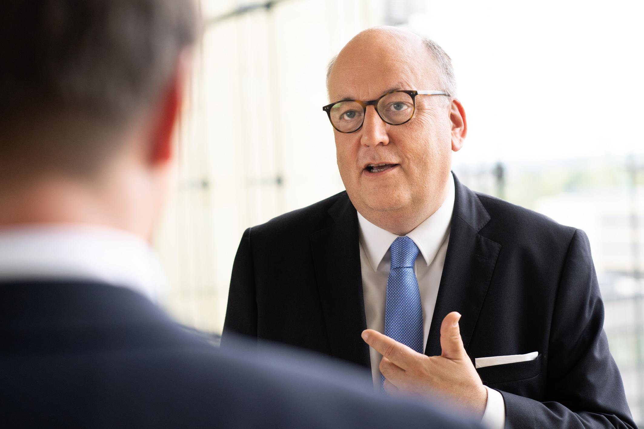 Materials Services Chairman, Martin Stillger