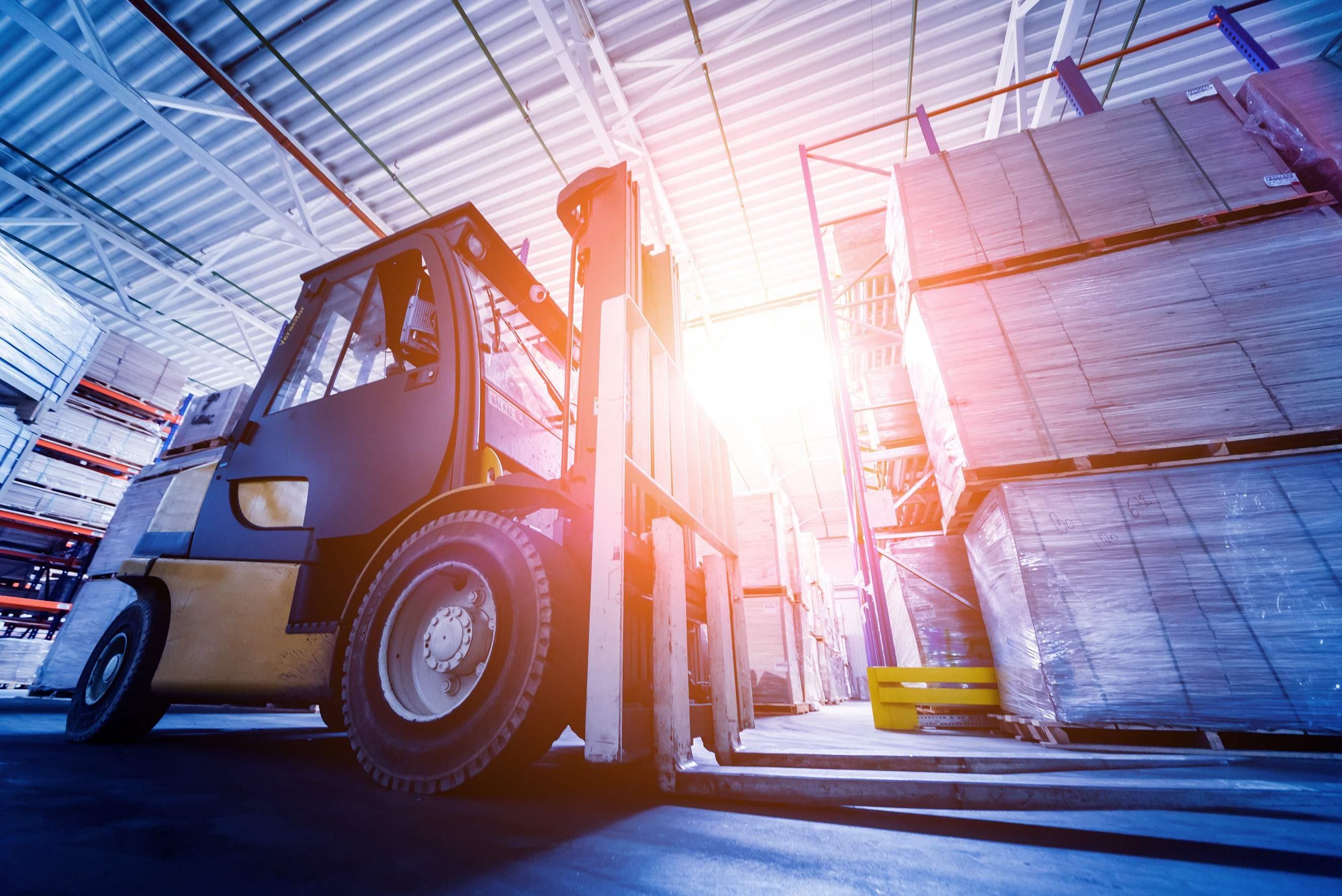 thyssenkrupp warehouse forklift