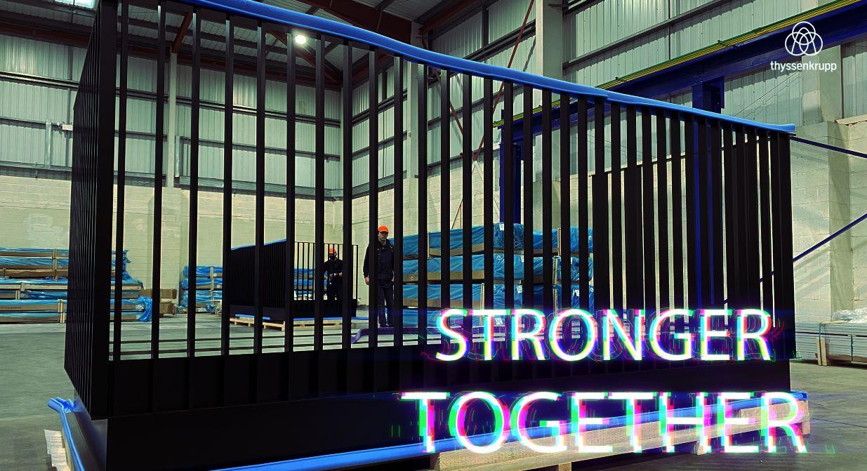 Stronger Together Blue Chyp