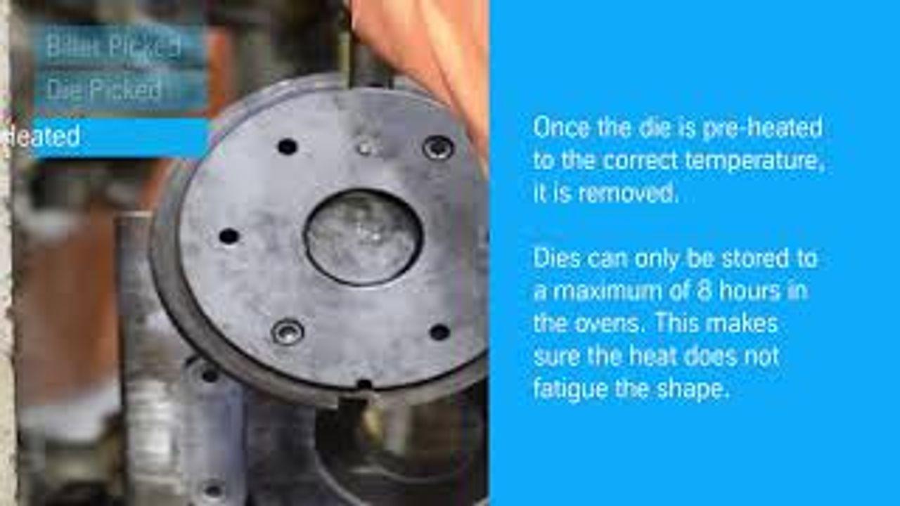 The aluminium extrusion process